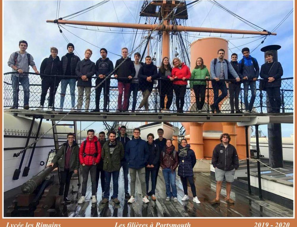 Nos futurs officiers en visite à Portsmouth !