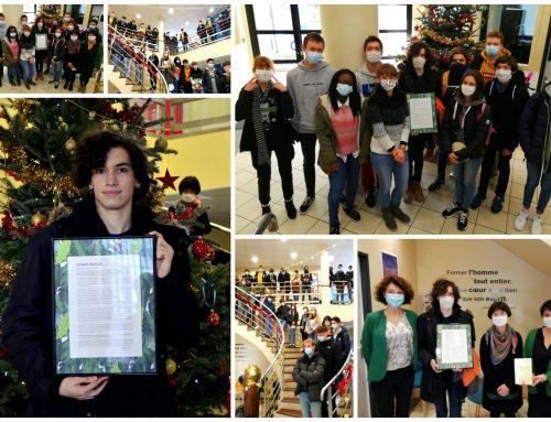 Concours de critique littéraire 2020 : un élève du lycée Les Rimains lauréat